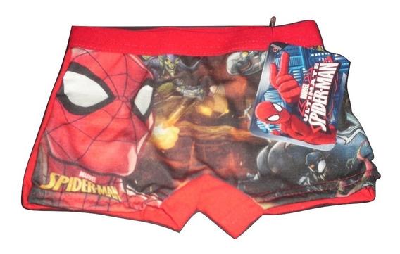 Boxer Spiderman Ultimate Talla 2 Años Calzon Bebe $239a