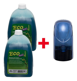 Super Kit Shampoo Manos 2 X 5 Lt + Dispenser De Regalo Valot
