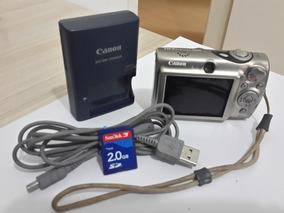 Camera Digital Canon Ixy 1000 10 Mega Pixels Zoon 3x Usado