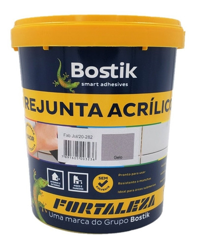 Rejunte Acrílico Gelo Piscina / Porcelanato 1kg Fortaleza