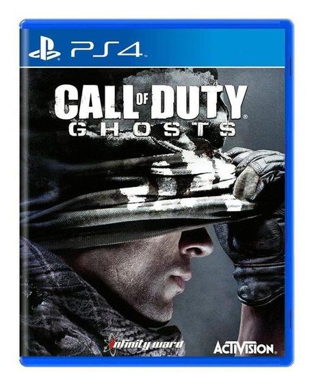 Call Of Duty Ghosts Ps4 Mídia Física Pronta Entrega