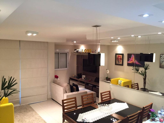 Apartamento Com 2 Dormitórios À Venda, 65 M² Por R$ 457.000,00 - Sacomã - São Paulo/sp - Ap0487