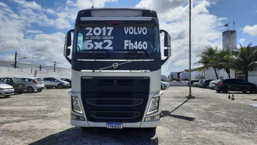 Imagem 1 de 9 de Volvo Globetroter Fh460 6x2 Mola Branco Revisado Selectrucks