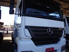 Mercedes Benz Axor 2544 S, Ano Fab/mod. 2012 Branco 6x2