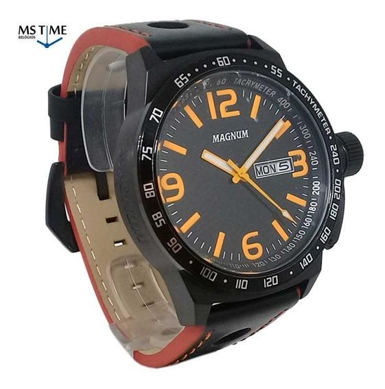 Relógio Magnum Masculino Analógico Militar Grande Ma31542j