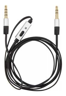 Cable Manos Libres 3.5m C/ Microfono C15 - Netmak