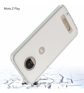 Funda Clear + Mica Moto G5, G5 Plus, Z2 Play