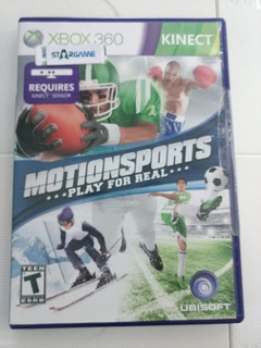 Motion Sports Kinect Xbox 360
