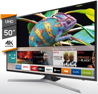 Smart Tv 50 Pulgadas Mu6100 Uhd Samsung