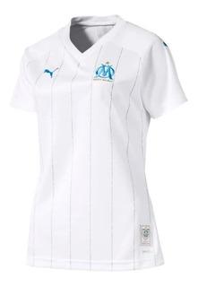 Camisa Olympique De Marselha Feminina 19/20 - Pronta Entrega