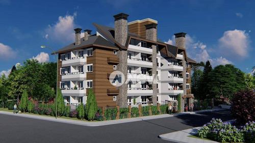Imagem 1 de 9 de Apartamento Com 1 Dormitório À Venda, 59 M² Por R$ 359.000 - Vila Suica - Canela/rs - Ap2670