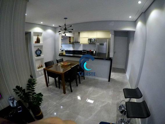 Apartamento Mobiliado E Decorado, 2 Dormitórios, 61 M² Por R$ 320.000 - Jardim América - São José Dos Campos/sp - Ap1014