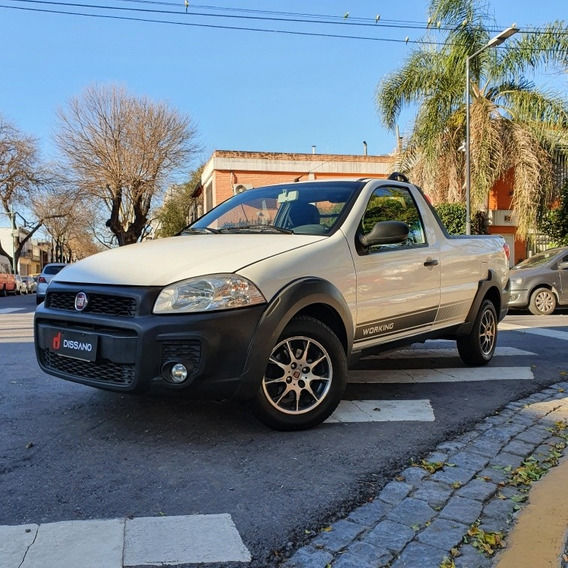 Fiat Strada 1.4 Working Cd C/aa + Pack Seg 2014 Dissano Auto