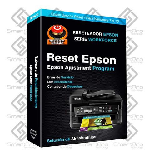 Reset Epson Wf2650 Wf2660 Wf2750 Wf2751 Wf2760 Wf2540 Wf2630