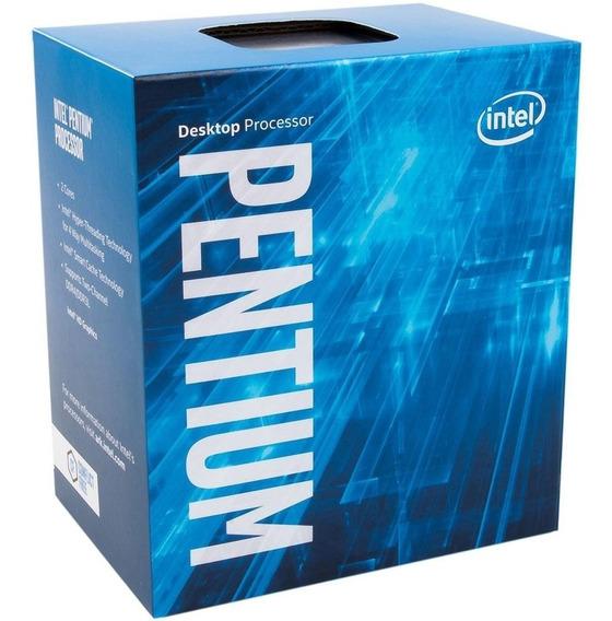 Processador Intel Pentium G4600 Kaby Lake 1151 3mb 3.6ghz