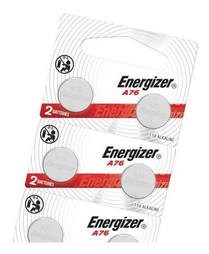 Imagen 1 de 8 de Pila Lrr44 Energizer A76 157 357 Tira Por 10