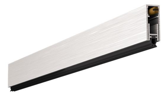 Protetor Veda Porta Alumínio Automático 62cm C/ Kit Fixação