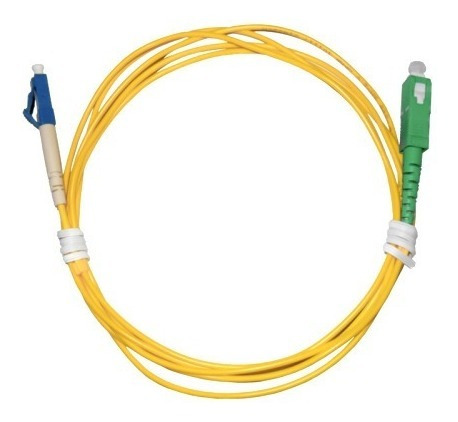 Cordão Óptico Patch Cord Lc/upc X Sc/apc 3mt Kit 10 Uni