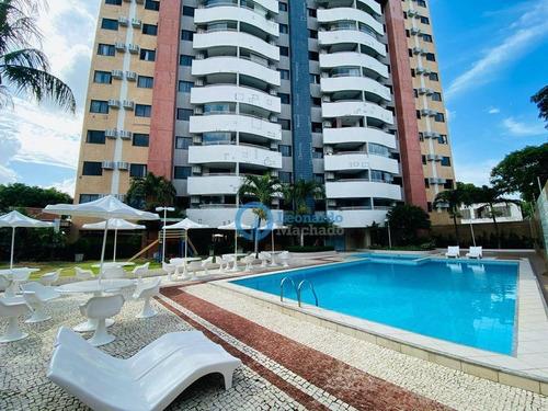 Imagem 1 de 20 de Apartamento Com 3 Dormitórios À Venda, 112 M² Por R$ 500.000,00 - Engenheiro Luciano Cavalcante - Fortaleza/ce - Ap0983
