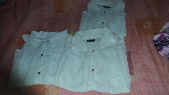 Camisas De Gasa 3x 2