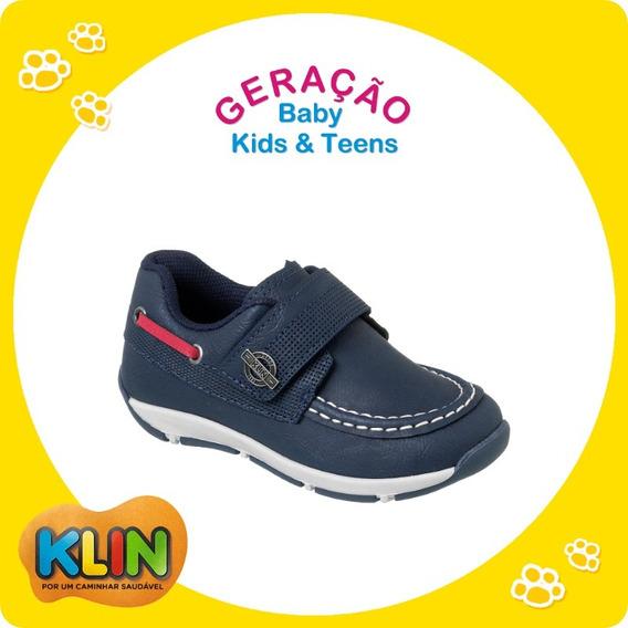 Sapato / Sapatênis Infantil Menino Outdoor Klin Tamanhos 24, 25 Ou 27 - 20882