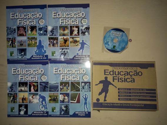Box Repensando A Educação Fisica 4 Modulos + Dvd