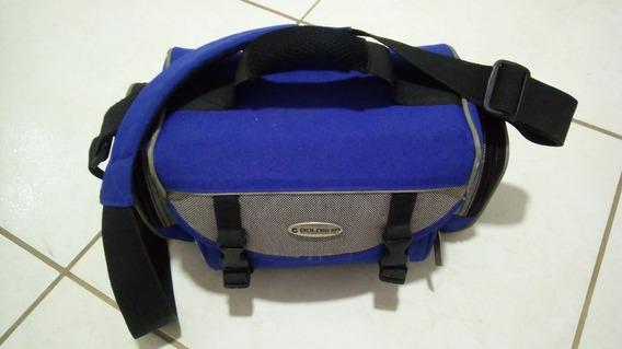 Bolsa/maleta Goldship P/ Câmera Fotográfica Ou Filmadora