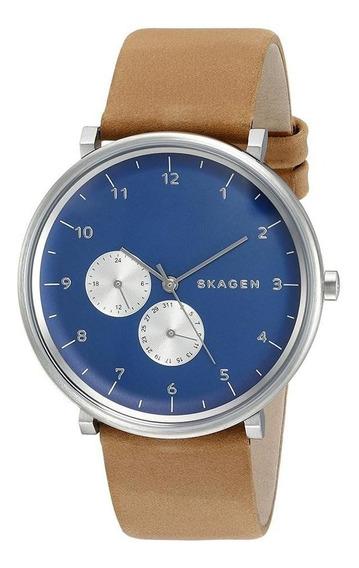 Relógio Skagen Masculino Ref: Skw6167/0ai Slim Prateado