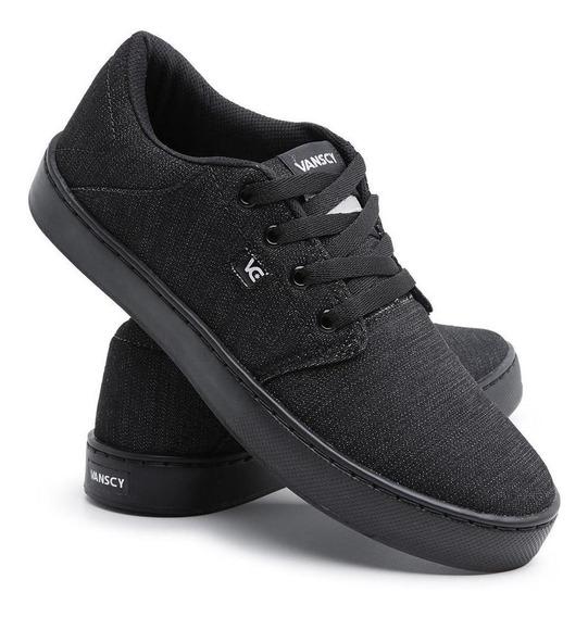 Tênis Sneaker Casual Conforto Cano Baixo Dia A Dia