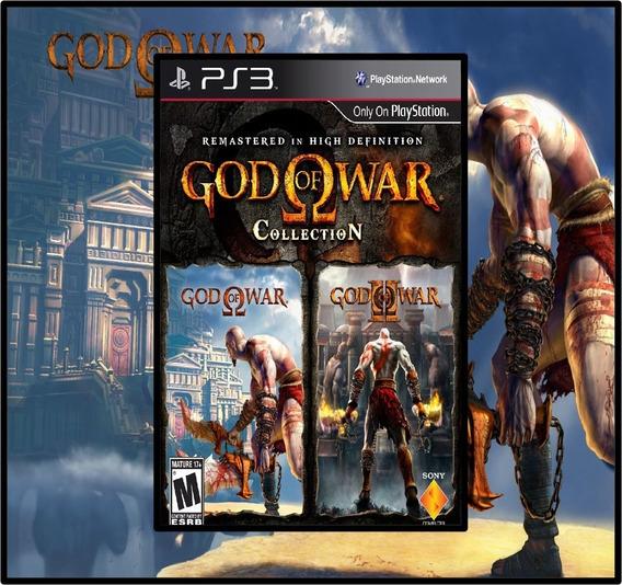 Coleção Do God Of War - Collection - Psn Ps3 - Envio Hoje