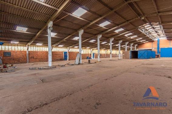 Barracão Comercial Para Locação, Uvaranas, Ponta Grossa. - Ba0022