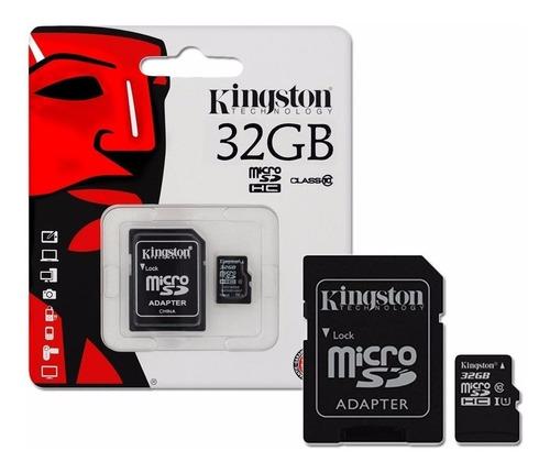 Memoria Micro Sd 32 Gb Kingston Class 10 Sellada Itelsistem