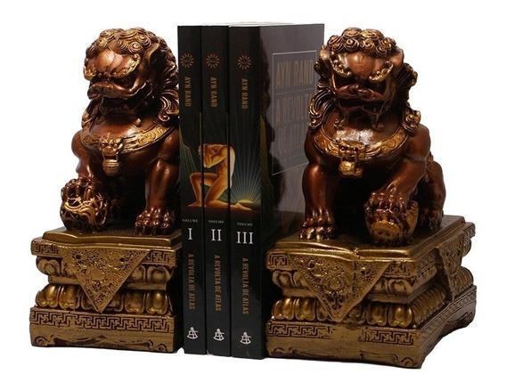 Apoio De Livros Leão Chinês Shishi