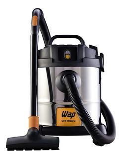 Aspirador Pó Água Wap Gtw 12 Inox 1400w Filtro Lavavel 127v