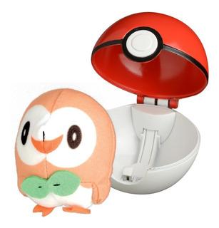 Pokemon De Tela Figura Soft + Pokebola Original Wicked Cool