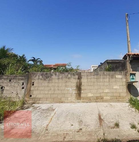 Imagem 1 de 5 de Terreno À Venda, 300 M² Por R$ 85.000,00 - Estância Balneária De Itanhaém - Itanhaém/sp - Te0368