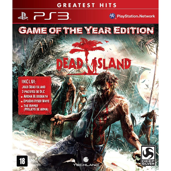 Dead Island Goty Game Of The Year Ps3 Original Mídia Física