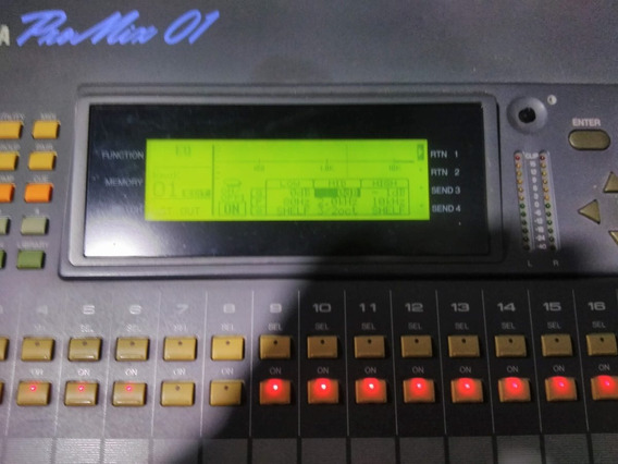 Mesa De Som Digital Yamaha Promix 01