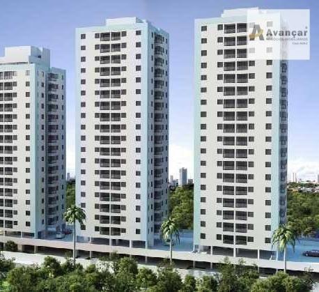 Apartamento Com 3 Dormitórios À Venda, 67 M² Por R$ 360.000 - Imbiribeira - Recife/pe - Ap0364