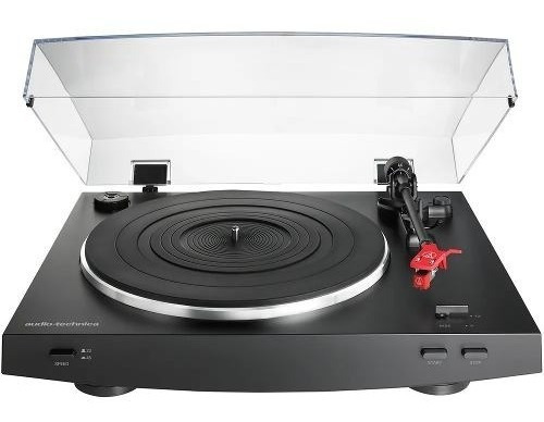 Toca-discos Audio Technica At-lp3bk Automatico (belt-drive)