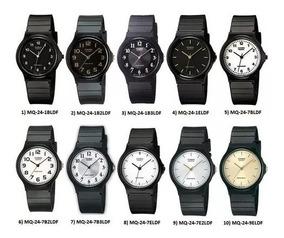Pack 10 Relojes Casio Mq24 Original Analogo Hombre Y Mujer