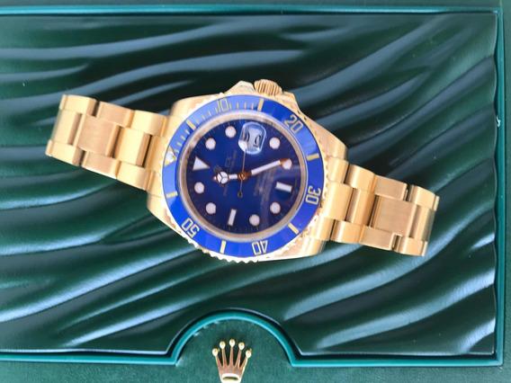 Relógio Rolex Submarine Automático + Caixa Verde Completa