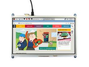 Raspberry Tela Lcd 10.1¨ Touch Waveshare 1024x600