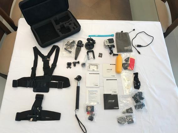 Câmera Gopro Hero 3+ Silver + Kit Completo
