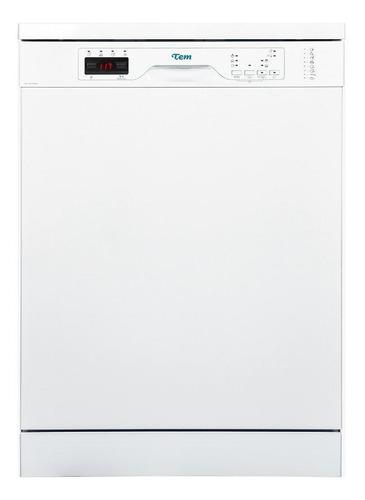 Imagen 1 de 5 de Lavavajillas Tem 12 Cubiertos Blanco Categoria A Oferta Pcm