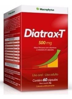 Diatrax T 500mg Maca Peruana Vitaminas Minerais