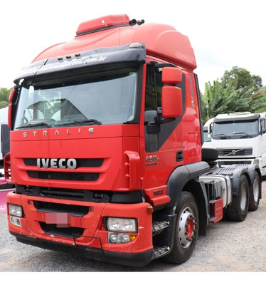 Iveco Stralis 460 2011 6x2 Preço De Repasse