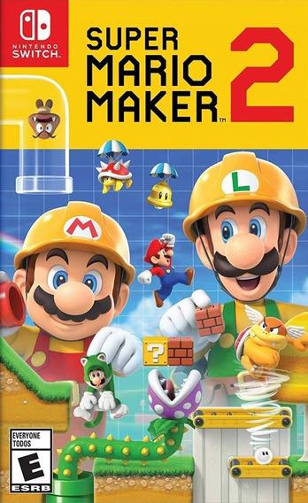 Super Mario Maker 2 Switch Mídia Física Lacrado