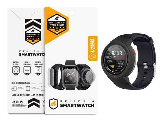 Película Nano Gel Dupla Relógio Xiaomi Amazfit Verge - Gs