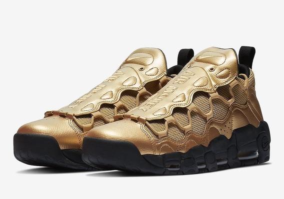 Tenis Nike Air More Money Gold 26.5 Mx